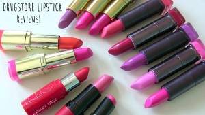 Drug Store Lipstick Reviews